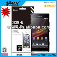 Smart phone screen protector for Sony Xperia SP M35h oem/odm (High Clear)