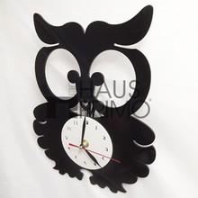 De cuarzo reloj decorativo / negro de dibujos animados relojes de pared / cuarzo Animal