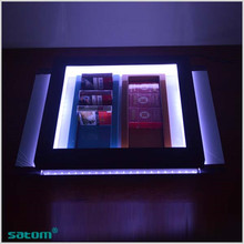 Factory direct price acrylic advertising display of tobacco / acrylic rotating display