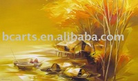 nature paintings images,The hotel walls are decorated with framed art of painting abstract art painted canvas paintings wholesal