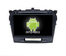 Factory directly !Android 4.4 Full touch screen car dvd player for suzuki vitara 2015 +qual core +OEM!