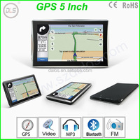 5inch Windows CE 6.0 Car GPS Navigation Multi-Language+ HD Screen + Windows CE 6.0 + Load Map