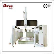 China Jaingsu Diacam 2513*5 strong cutting strength small wood crafts bird house cnc router machine