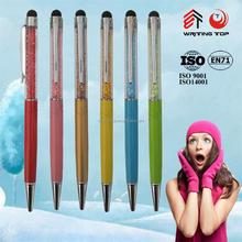 Cheap crystal Diamond touch screen ball pen