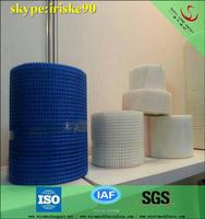 blue alkaline resistance fiberglass adhesive waterproof mesh tape