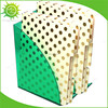 Green Acrylic Plastic Desktop Box Case Curves Magazine File Holder