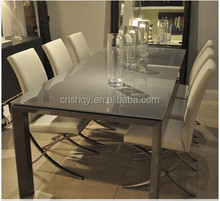 glass top tables modern style high gloss