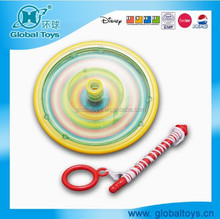 HQ7947 multi color spin top with EN71 standard for promotion toy