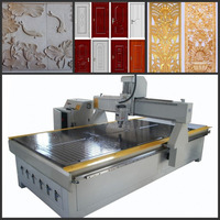 Derek high precision 4 axis wood working CNC carving router 1325 with CE for sale
