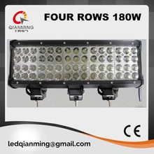 15 inch 180W quad row led light bar for off road/truck/ jeep suv 4wd