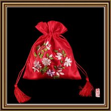 Excellent quality new coming drawstring gifts satin pouch/bag