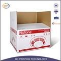 Eco- amigável material de papel cartão de modelo caixa de exposição