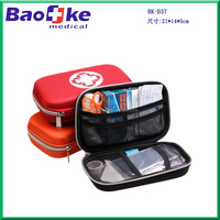 High-end Travel/Road trip first aid kit, hard case EVA first aid kit for sports