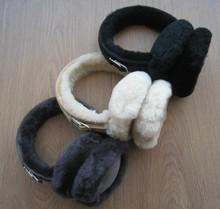 Merino sheepskin fur earmuff
