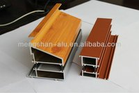 extruded aluminium profile for Sliding door rollers frame system