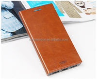 Mofi classic design leather mobile phone case cover with adjustable stand for Lenovo P70T CO-LTC-1043