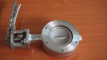 HIGH QUALITY MANUAL WAFER TYPE HIGH PERFORMANCE BUTTERFLY VALVE