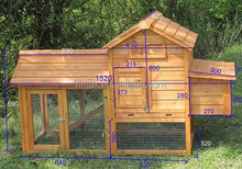 SMALL POULTRY HUTCH CHICKEN HOUSE COOP
