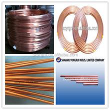 PVC Coated Copper Tube or Copper Corrugated Tube