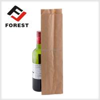 Wine paper bag for packaging paper kraft bag