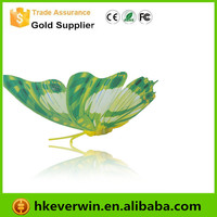 Artificial Craft Cheap Wholesale Glitter Butterfly Decoration
