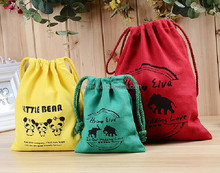 promotion 100% drawstring cotton bag