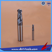45HRC High precision Ball nose Carbide Milling Cutter Hot sale -----------20*150