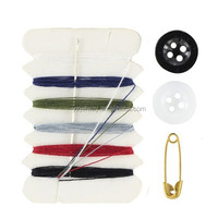 Hot Sale! Hotel Mini Sewing Kit! Plastic Sewing Kit Box! Low Price and Good Quality!