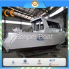 High Strength 25FT Aluminum Cuddy Cabin Boats For Fishing With Double Engine