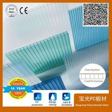 100% new virgin material lowes polycarbonate panels roofing sheet