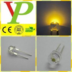 high lumens straw hat 0.5w high power yellow