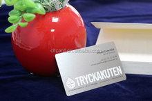 Promotional designer metal card blanks