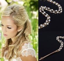 Wholesale Layer Pearl Princess Head Chain