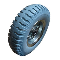 PU Foam Rubber Wheels 2.50-4 3.00-4 3.50-4 3.00-8 4.00-8
