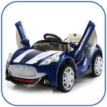 Electric toy car for kids with remote control,Kids ride on electric toy car with opening doors,Electric car toys for kids