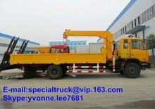 DFAC New Crane Truck 8Ton for sale 4*2
