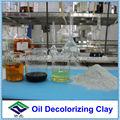 Aceite de arcilla decolorante para el aceite de ricino