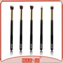 Makeup Beauty Brush Yellow Bambu Series Smoky Eyes 5pc. Brush Set