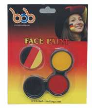 2016 Euro world cup football cheap Germany face paint makeup halloween