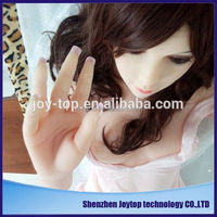 Reallike lifelike full silicone japaness cartoon sex doll anime sex love doll for men with skeleton 145CM