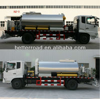 Truck mounted for road construction bitumen sprayer