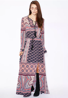 fashion printed long sleeves boutique dresses lahore