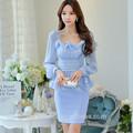 dabuwawa nueva moda vestido de las señoras