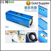 JH-MAUK2 Trade price Music Angel mini portablet speaker USB flash