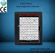CE original and durable LAUNCH X-431 PRO3 scaner for all motorcycle scaner automotriz diagnostic computer