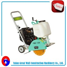 2015 new design and good quality walk behind gasoline robin honda electric asphalt floor road used cutting machine concrete saw