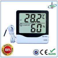 China digital thermohygrometer wall-mount digital thermo-hygrometer