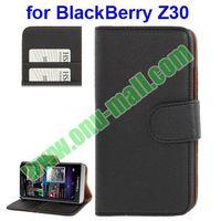 Hot !! Wallet Leather Case for BlackBerry Z30