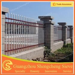 Decorative flower garden fencing iron bar fence iron fence for garden