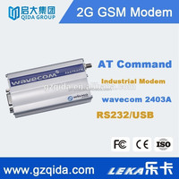 GSM alarm with single port 1 SIM card gsm modem for industrial application